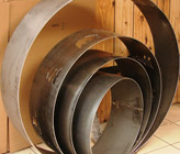 "Fire Rings, Steel, 24"", 30"", 36"" & 48"" Diameter"