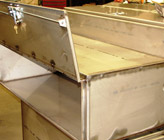 Custom Stainless Steel Locking Tool Boxes