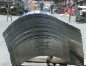 "Fabricated Steel 14"" Stomper Shoe Rolled Plate"