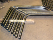 "1 ¼"" Schedule 40 A53 Pipe, 6 Bends on 5"" CLR"